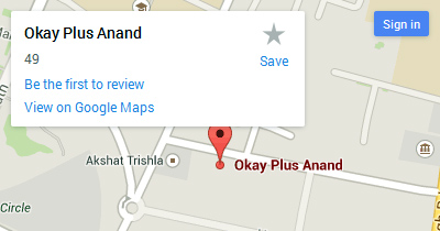 anand location map